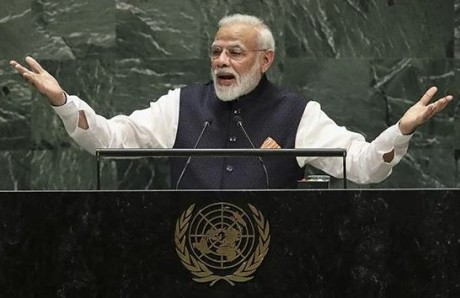 Narendra Modi at UNGA 2020