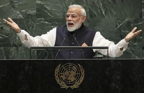 Narendra Modi at UNGA 2020