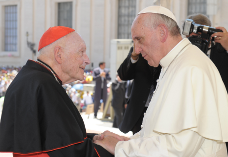 Cardinal Theodore McCarrick & Pope Francis (2013)