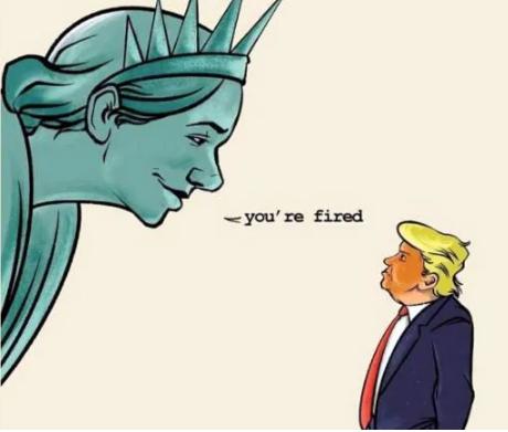 Lady Liberty & Donald Trump