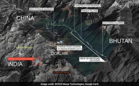 Tibet (China)-India-Bhutan Border