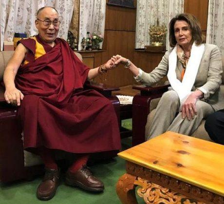 Dalai Lama & Nancy Pelosi