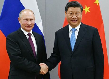Vladimir Putin & Xi Jinping