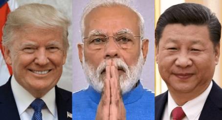 Trump - Modi - Xi