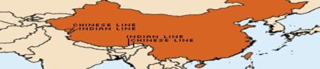 Ladakh and Arunachal as Chinese territory.
