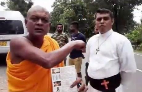 Ven. Ampitiye Sumanarathana Thero & Pastor Nalak Fonseka