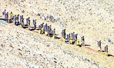 PLA withdraws from the LAC in Ladakh.