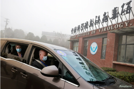 WHO team visit the Wuhan Institute of Virology (3 Feb. 2021)