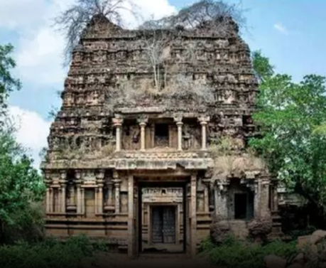 Chola-era Abatsahayesvar Temple in Thukkachi near Kumbakonam.