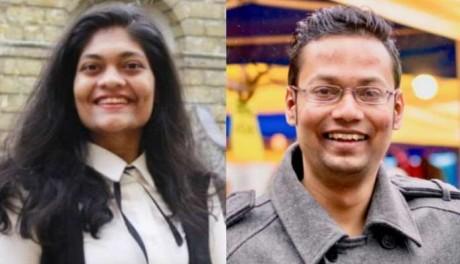 Rashmi Samant & Abhijit Sarkar