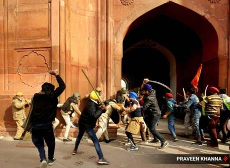 Red Fort Farmers Riot (Jan.26, 2021)