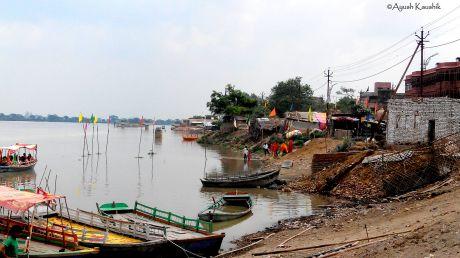 Yamuna at Vrindavan