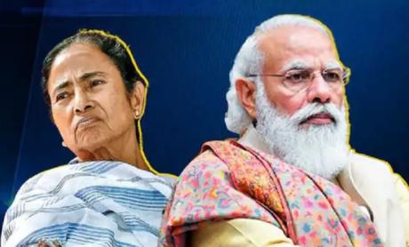Mamata Banerjee & Narendra Modi