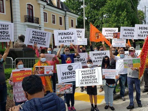 NRI-protest