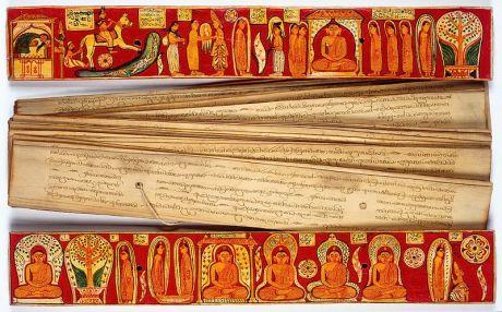 buddhist-palm-leaf-text