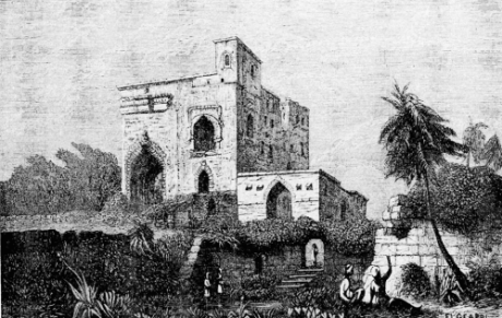 Palace of the Holy Inquisition  in Old Goa.