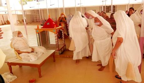 Santhara of a Jain nun in Rajasthan.
