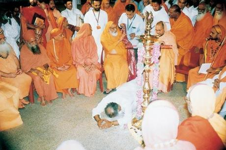 Hindu Dharma Acharyas at a