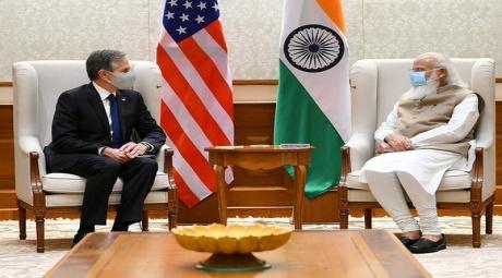 Antony Blinken & Narendra Modi