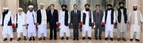 China romances the Taliban.