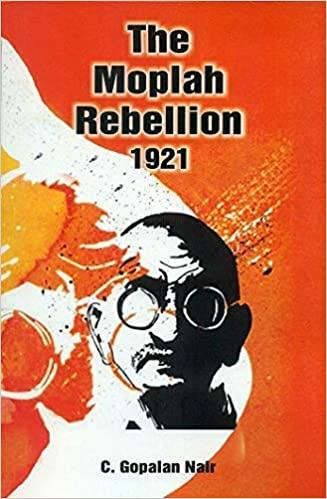 The Moplah Rebellion 1921 (Book Cover)
