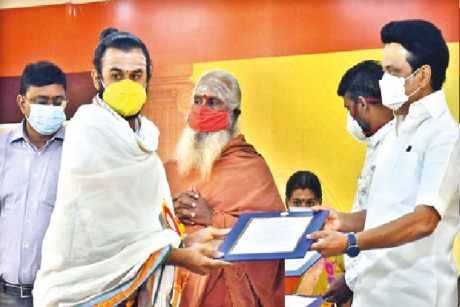 TN Chief Minister Stalin appoints non-Brahmin temple priests.