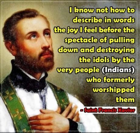 Francis Xavier Quote