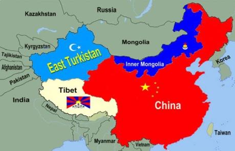 China-Xinjiang Map
